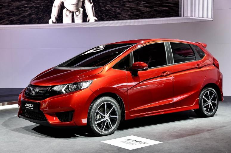 Новая Honda Jazz поступит в продажу в следующем году