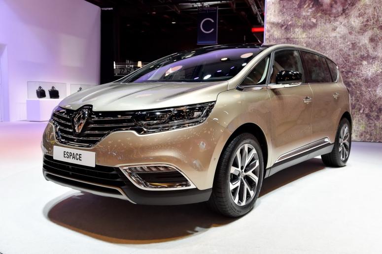 Renault Espace: минивэн для всей семьи