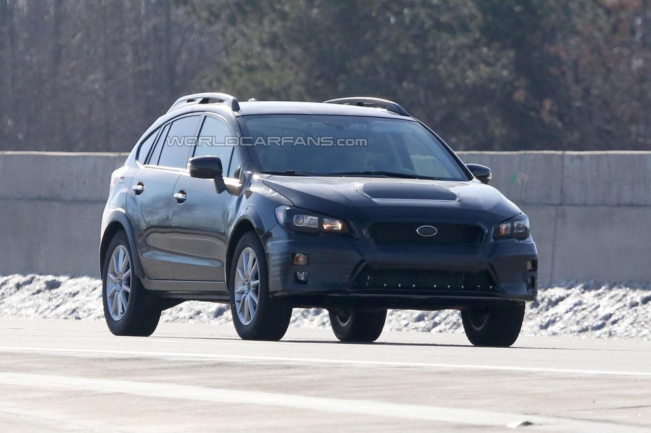 Прототип Subaru BRZ попался фотошпионам
